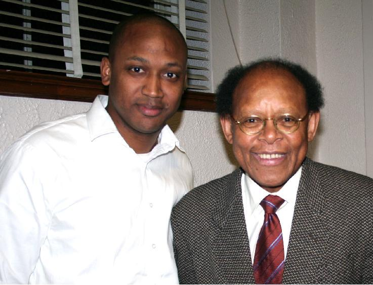 Jamye Wooten, Publisher of KineticsLive.com and Dr. James Cone