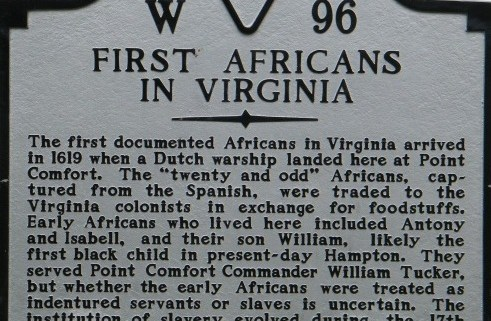 First Africans to arrive in English America
