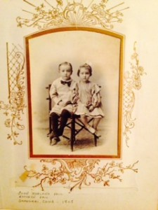 John Harland Paul and Kathryn Paul, Shanghai, China 1905  (siblings)