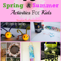 10 Spring & Summer Activities for Kids
