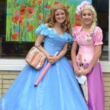 Princesses at the King's Festival