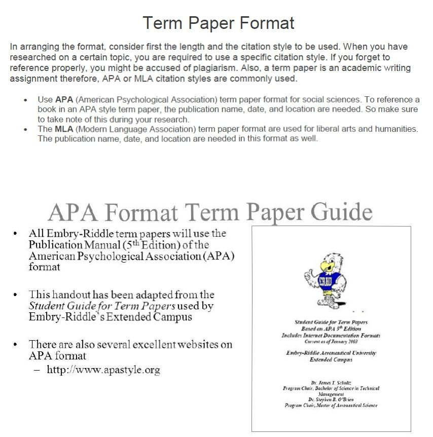 How to Write a Term Paper Fast Help at KingEssays©