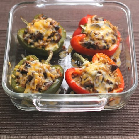 Easy Vegetarian Stuffed Peppers Recipe | Kingfield Kitchen