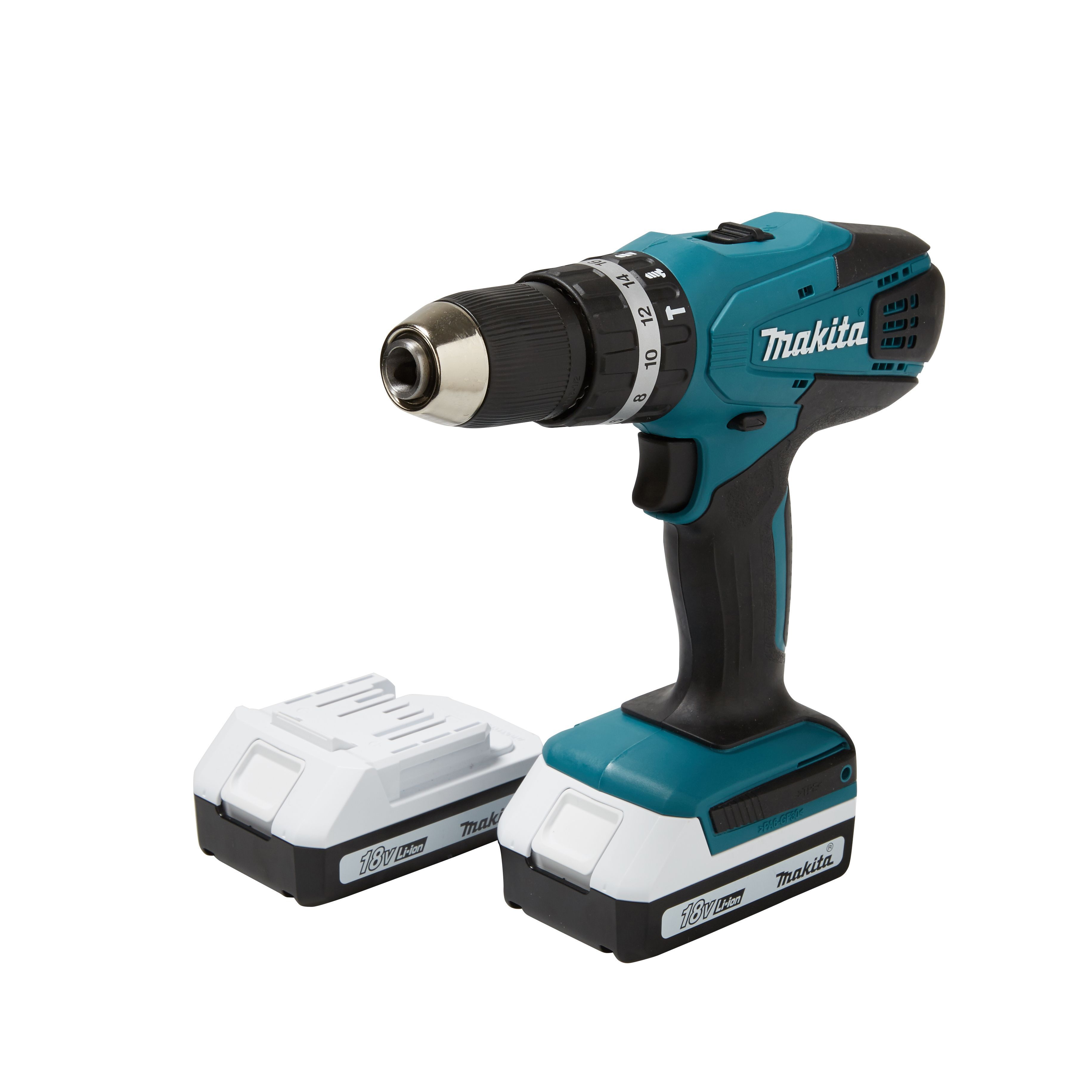 Makita Accuboor Set Makita G Series Cordless 18v 1 5ah Li Ion Combi Drill 2