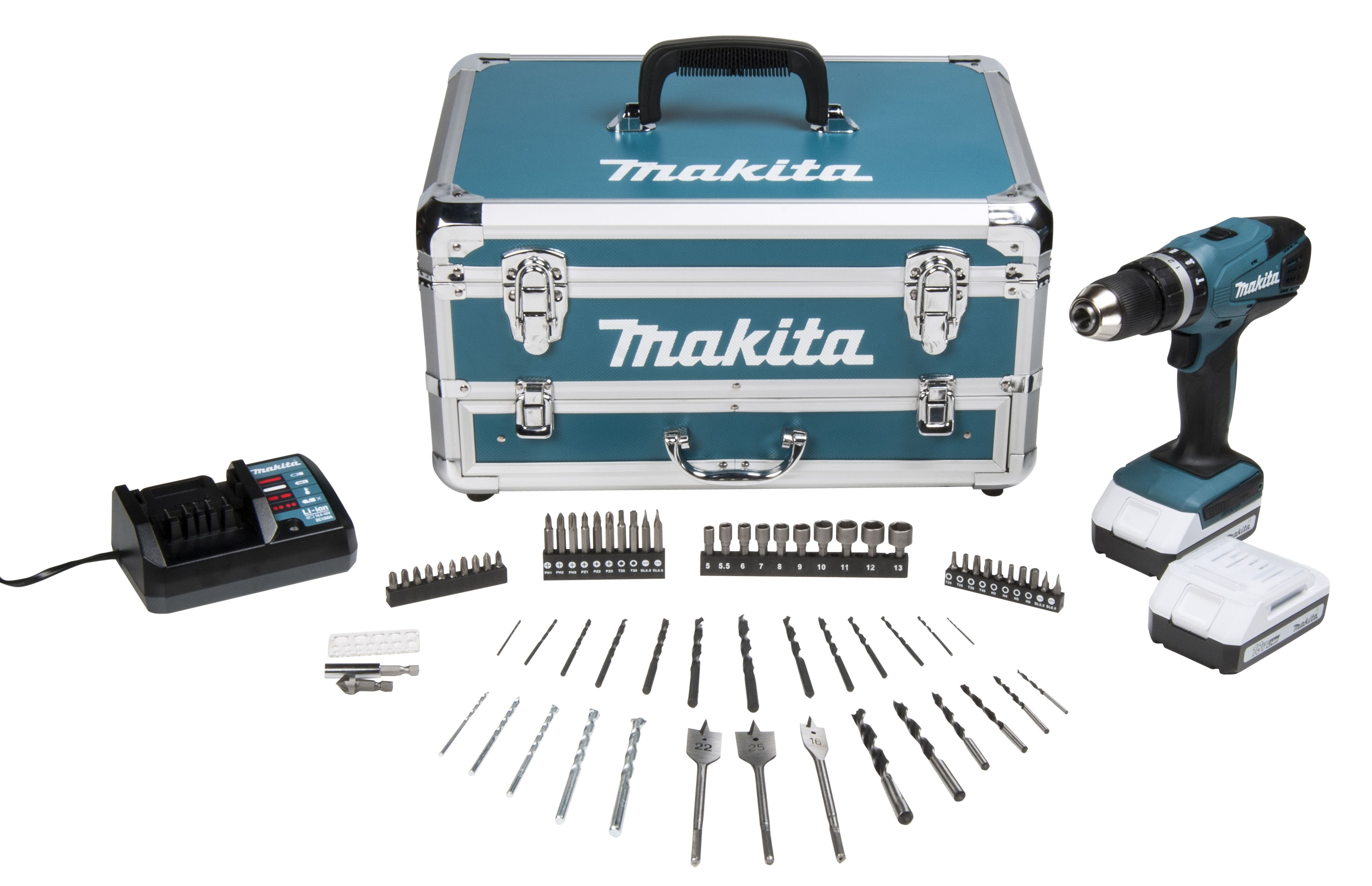 Makita Accuboor Set Makita G Series Cordless 18v 1 3ah Li Ion Combi Drill