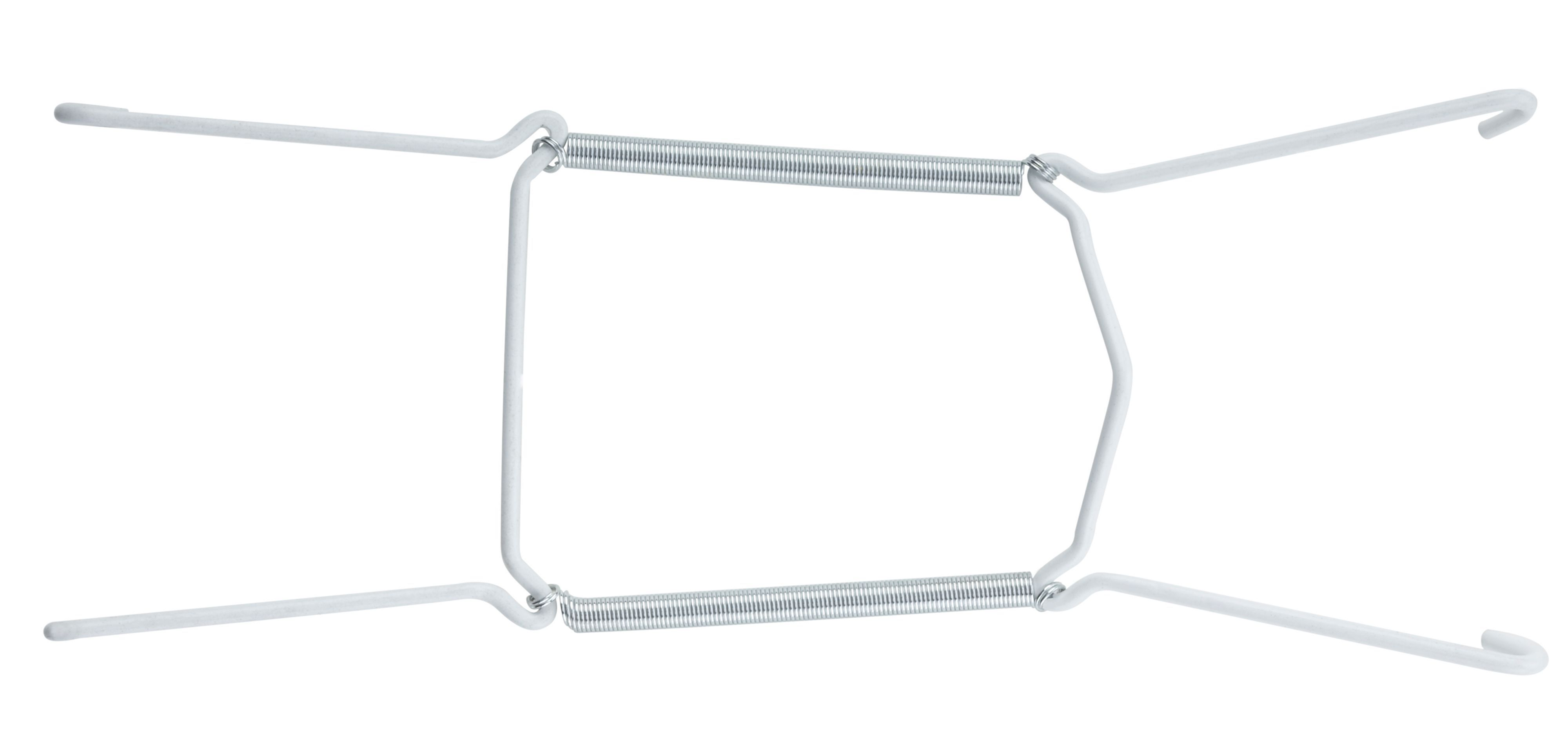 Glass Plate Hanger B Q White Carbon Steel Plate Hanger L 215mm Dia 225 355mm Departments Diy At B Q