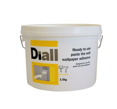 Diall Paste The Wall Ready to Use Wallpaper Adhesive 2.5kg | Departments | DIY at B&Q