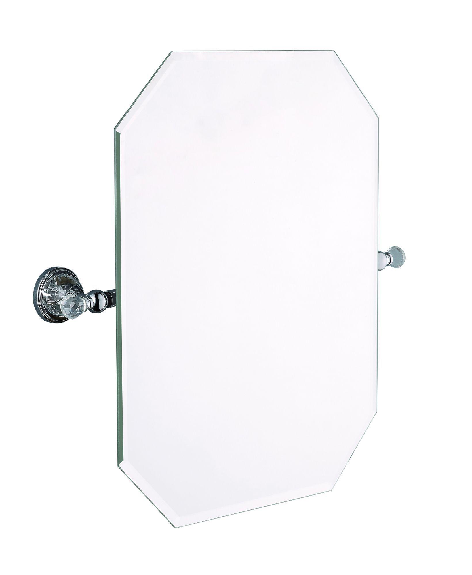 Cooke lewis eva octagon wall mirror w 500mm h 507mm departments diy at b q