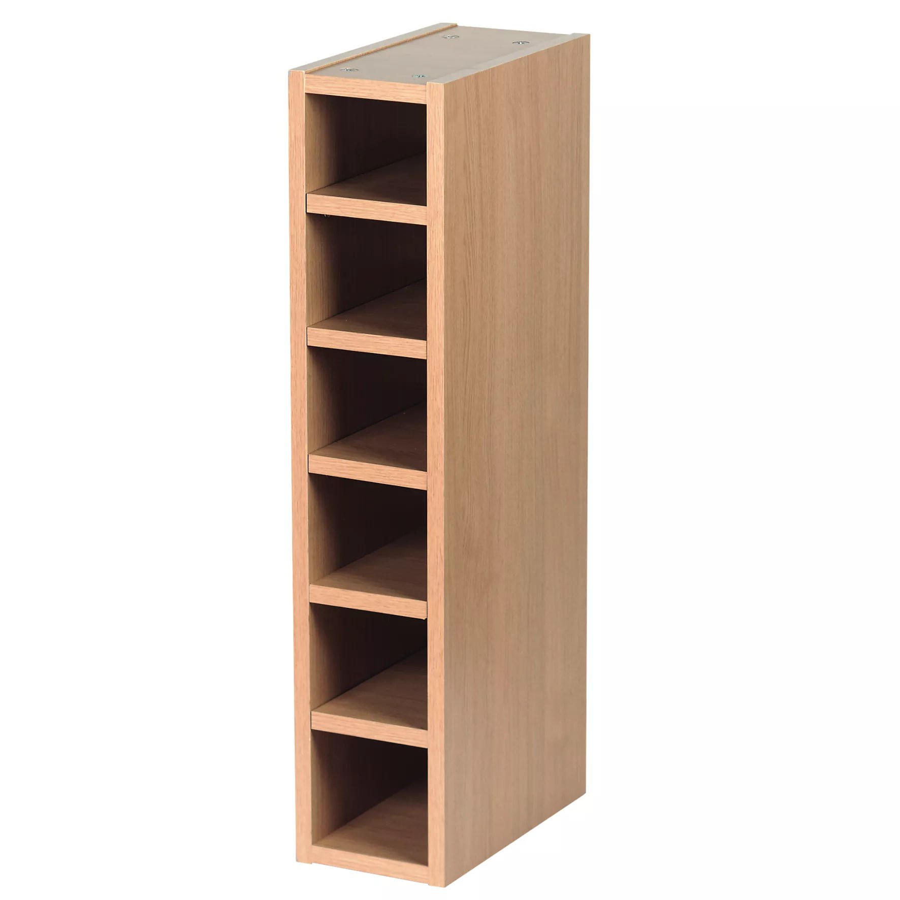Kitchen Wine Rack It Kitchens Oak Effect Wine Rack Cabinet W 150mm