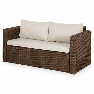 Rattan Ecksofa Soron Rattan Sofa | Departments | Diy At B&q