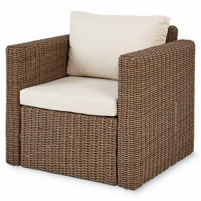 Soron Rattan Sofa B&q Soron Rattan Armchair Departments Diy At B Andq