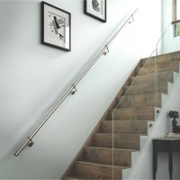 Stainless Steel Handrail Kit (L)3600mm | Departments | DIY ...