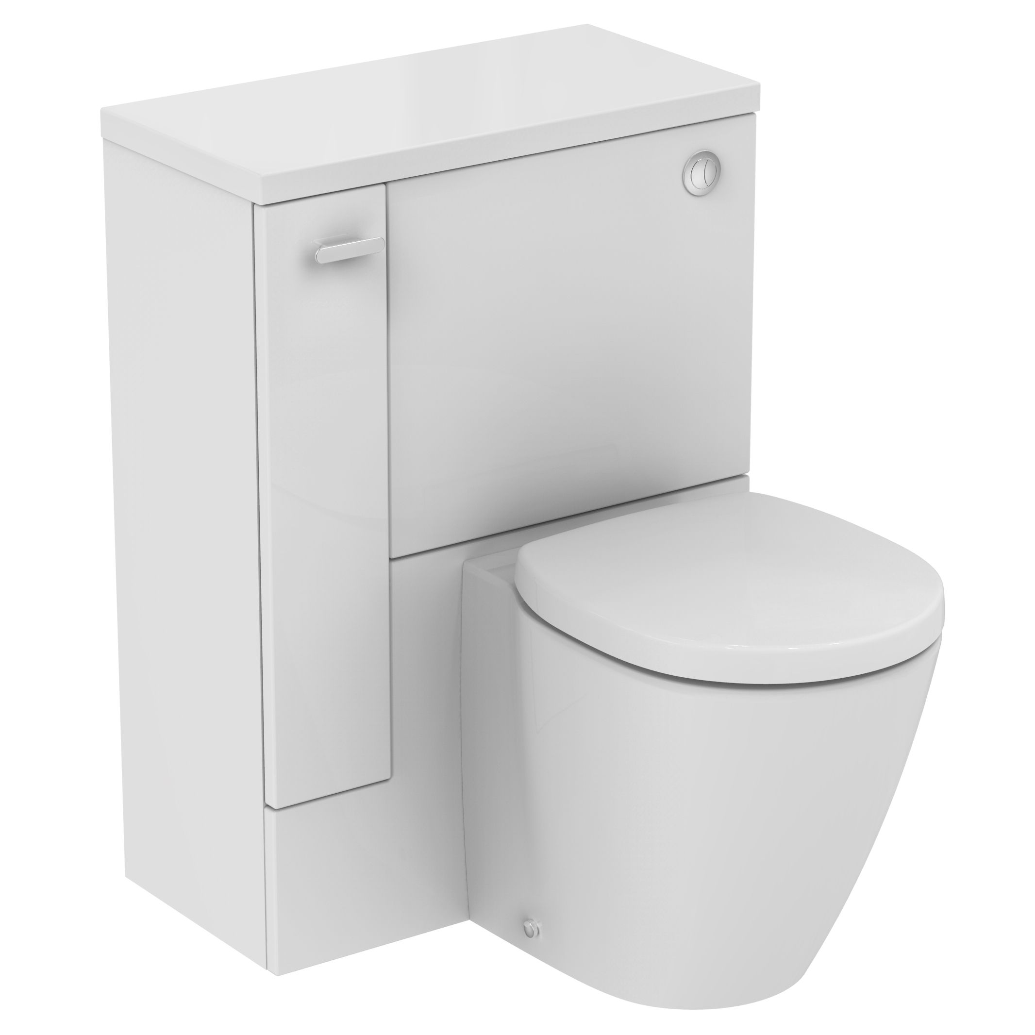 Gäste Wc Waschtisch Ideal Standard Ideal Standard Imagine Compact Lh Back To Wall Toilet Unit