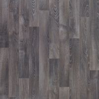 Dark grey Oak effect Vinyl flooring 4 m | Departments ...