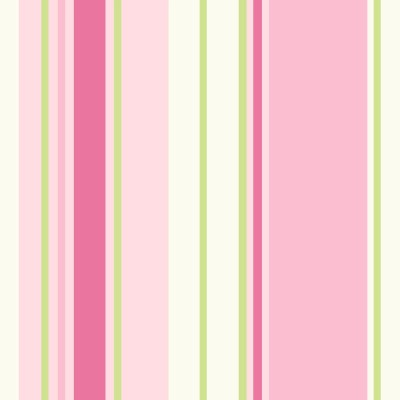 Holden Décor Paige Green & Pink Striped Wallpaper | Departments | DIY at B&Q