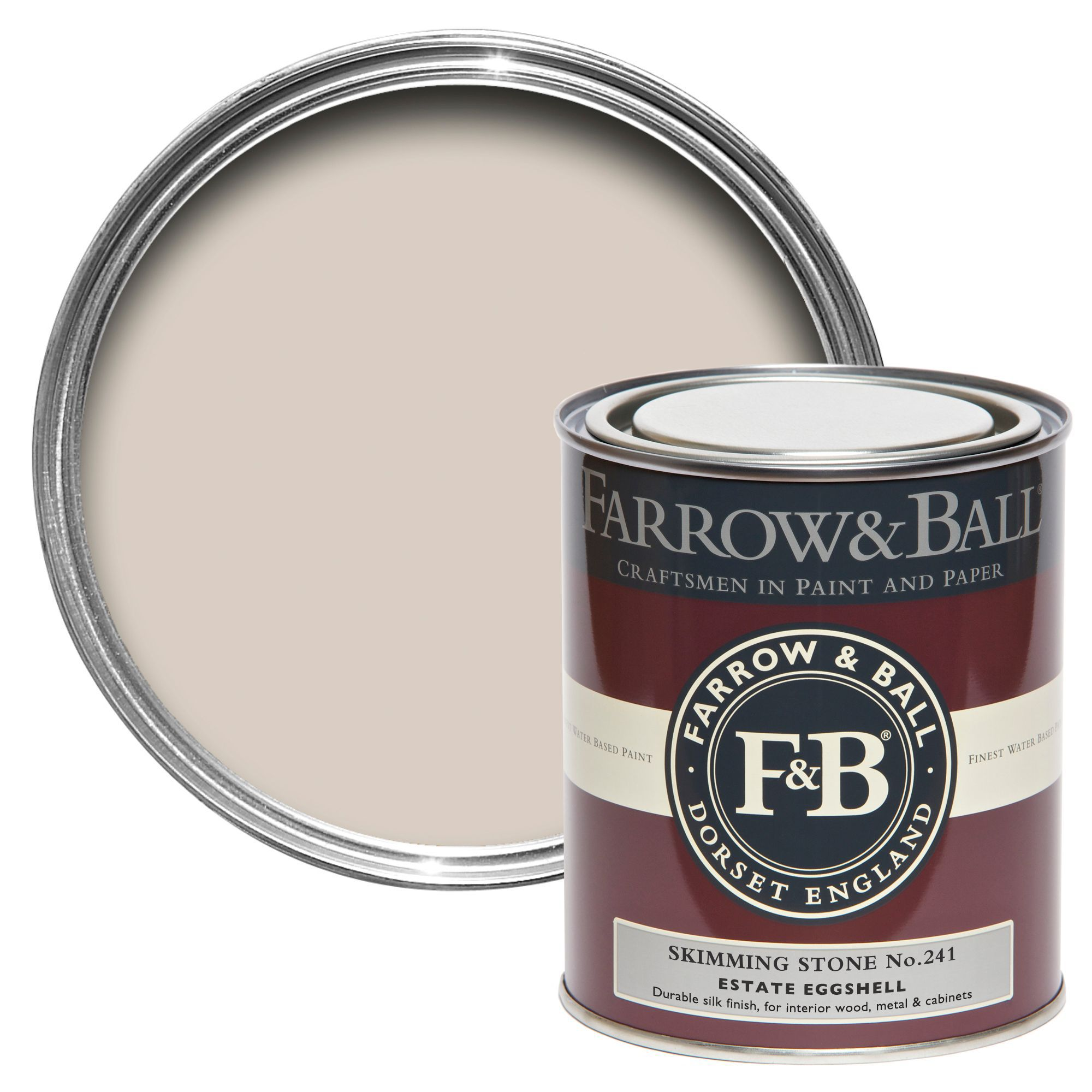 Farrow And Ball Skimming Stone Farrow And Ball Estate Eggshell Skimming Stone No 241 Silk