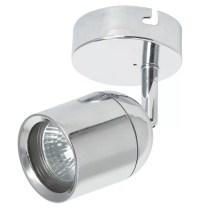 Bathroom Chrome Light Fixture   DIY