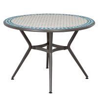 Silene Metal 4 seater Round table