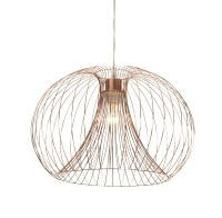 Marceau Wire Grey Pendant Ceiling Light | Departments ...