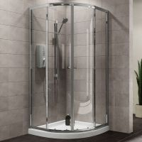 Plumbsure Quadrant Shower Enclosure with Double Sliding ...