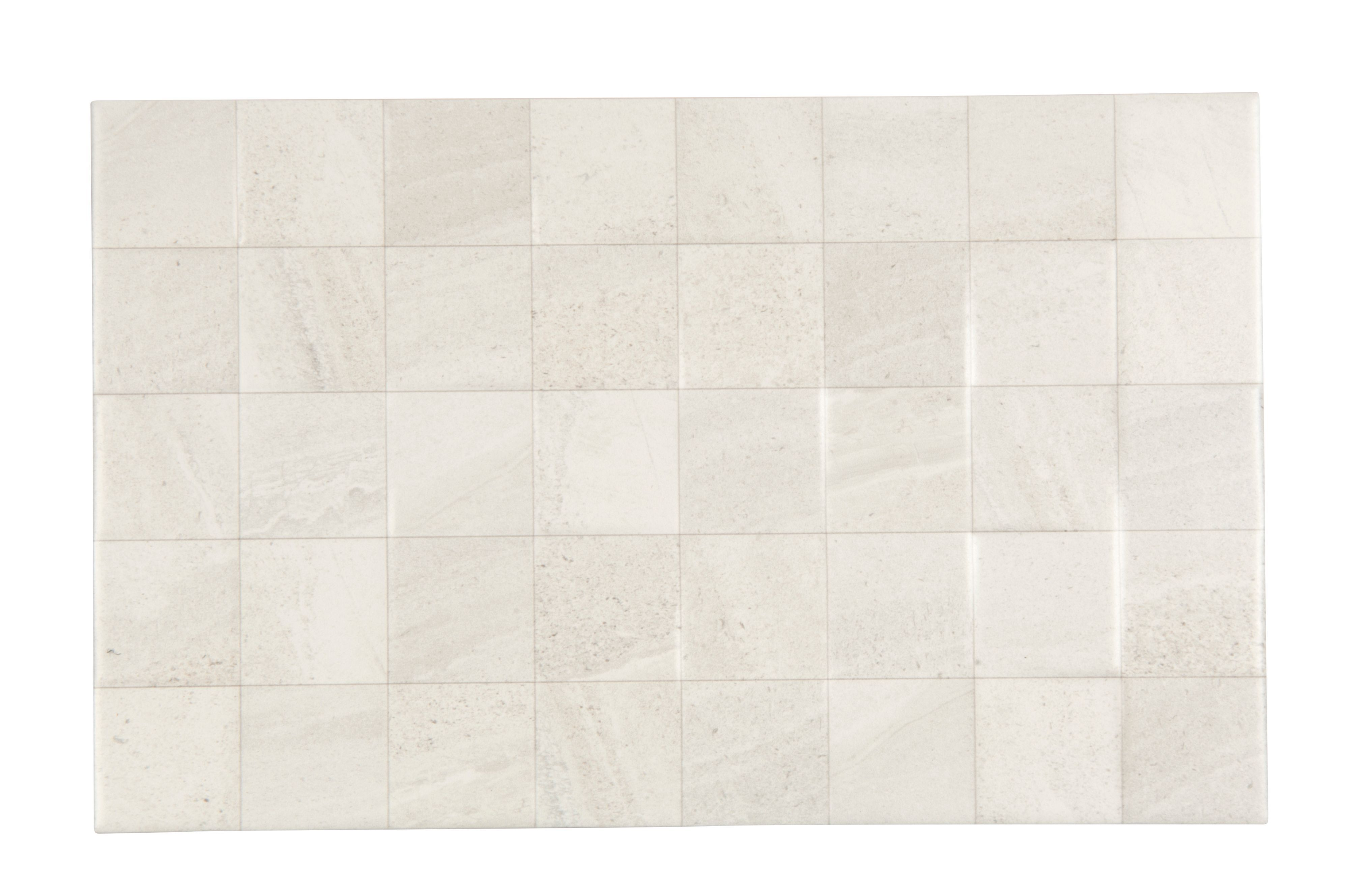 Weiße Fliesen Fiji White Stone Effect Ceramic Wall Tile Pack Of 10 L