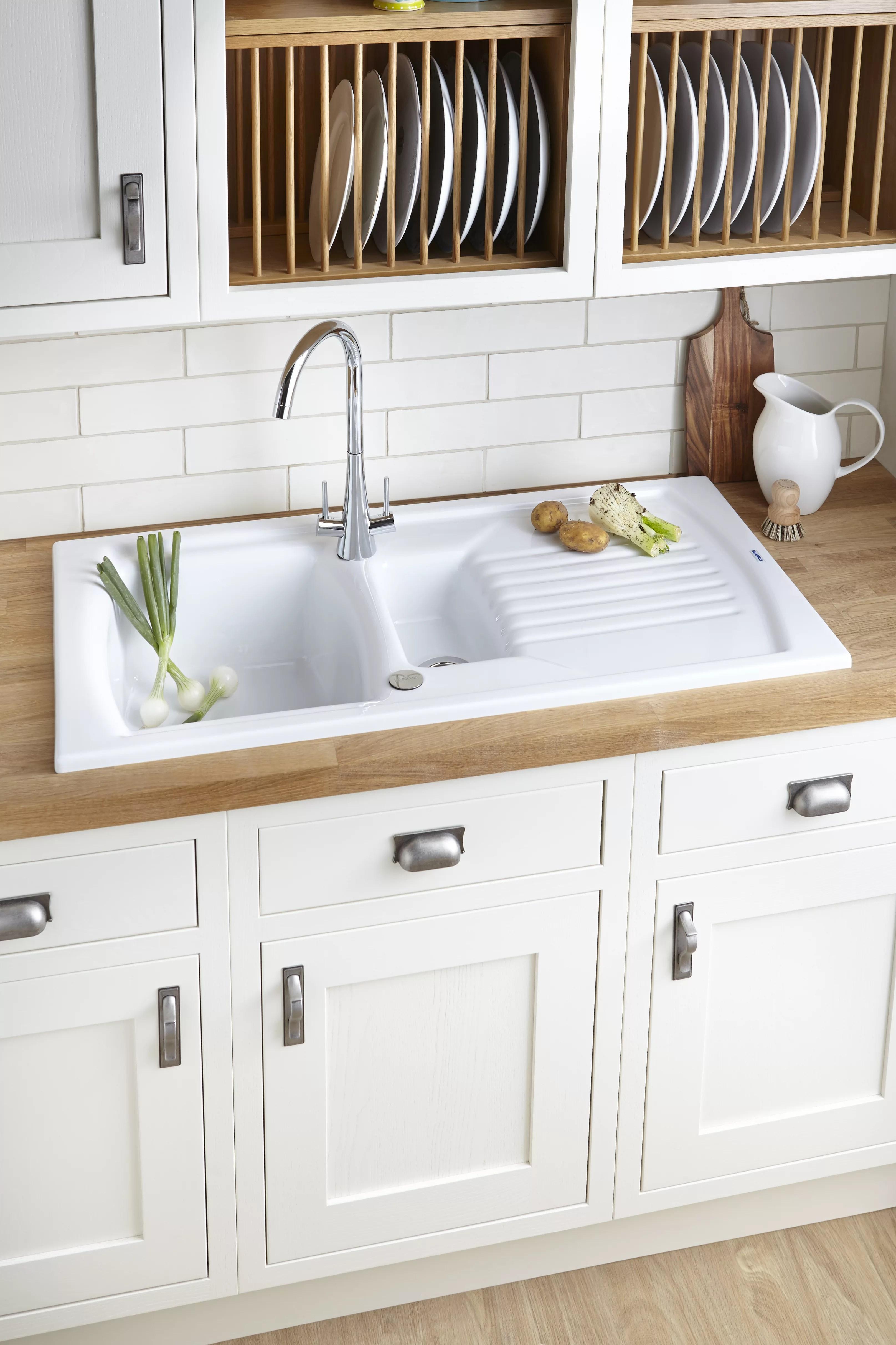 Kitchen Sink Buying Guide Ideas Advice Diy At Bq