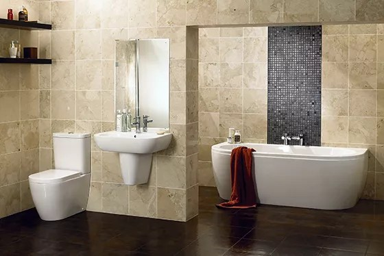 B And Q Wall Tiles Bathroom Tile Design Ideas