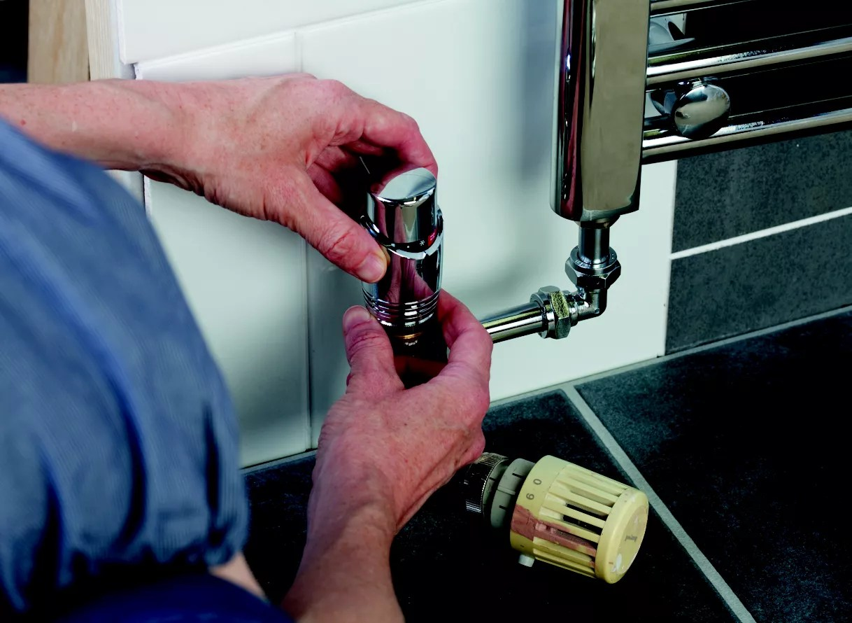 How To Fit A New Towel Radiator Ideas Advice Diy At Bq