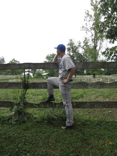 Orr Gottlieb aka Ogre Israeli Babe Ruth, Pitcher/Outfield/3rd base.