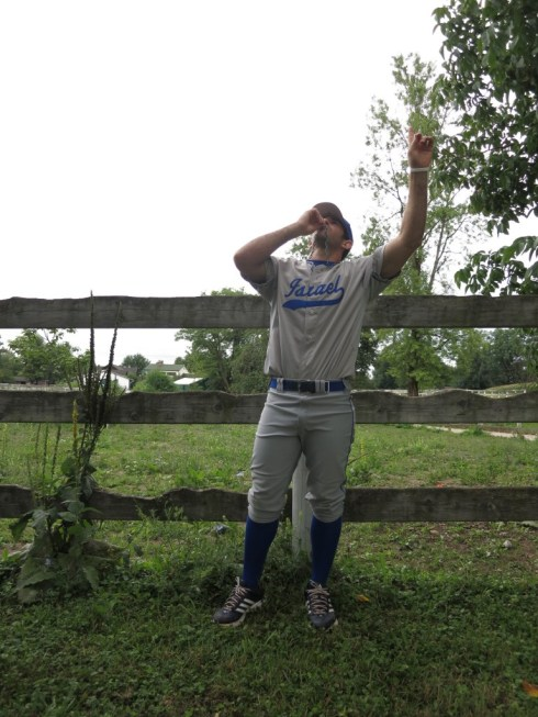 Alon Leichman aka Leroy the Giant Baby of the Sky, Right Handed Pitcher/Our Heart.