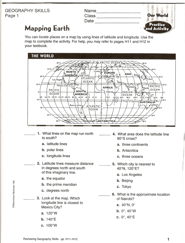 map earth diagram