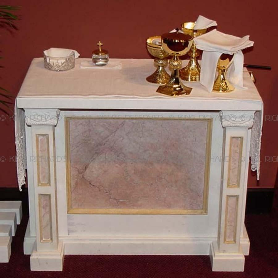 Credence Decorative New Carved Marble Credence Table