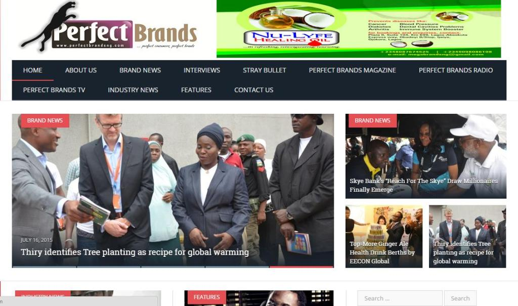 Perfectbrandsng.com is a revolution in reporting and analyzing brands & marketing, marketing communications' activities, issues and allied subjects and the industry generally. Visit Website