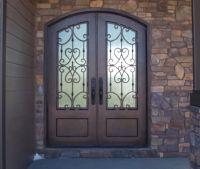 Wrought Iron Doors | Kings Building Material