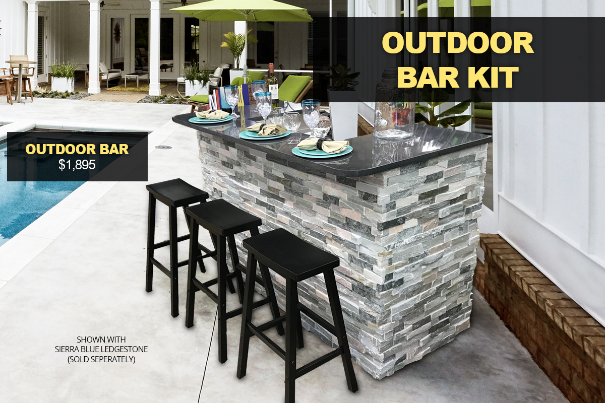 Outdoor Bar Kit Kings Building Material