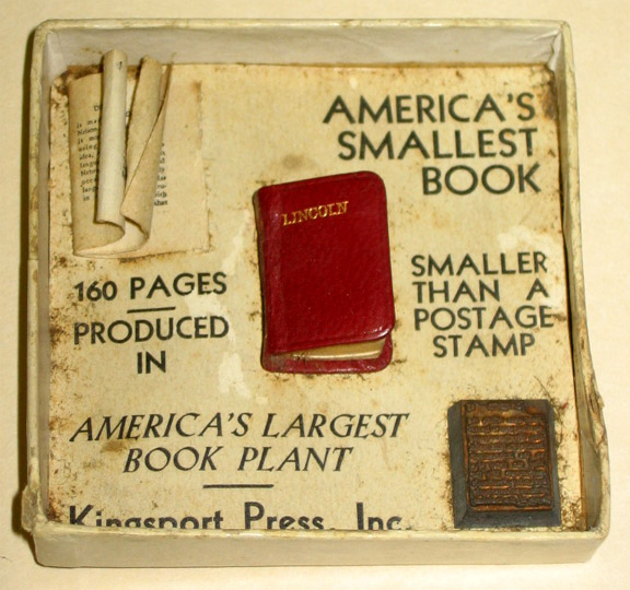 Kingsport Press Miniature Presidential Books (1/3)
