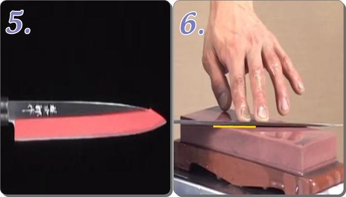 包丁の研ぎ方 包丁の角度 片刃