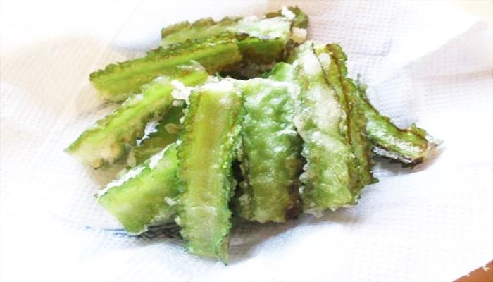 春 料理 四角豆