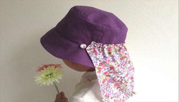 帽子 日よけ 作り方 型紙 2