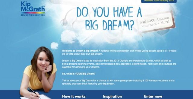 dream a big dream