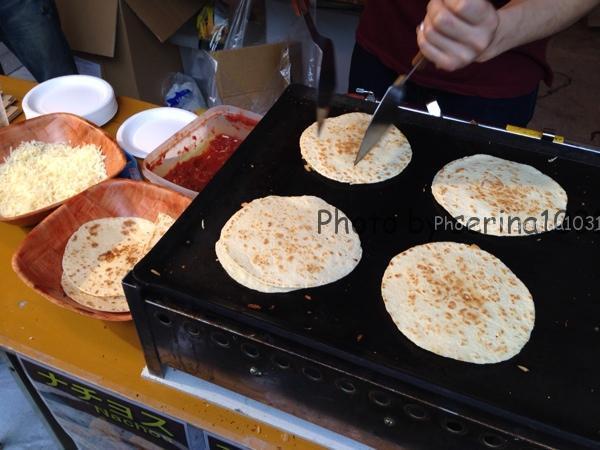 代々木公園ラテンフェス食べ物