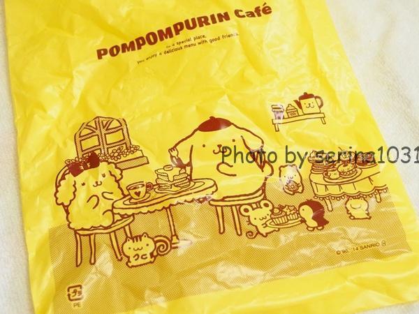 ポムポムプリンカフェ限定ストラップ