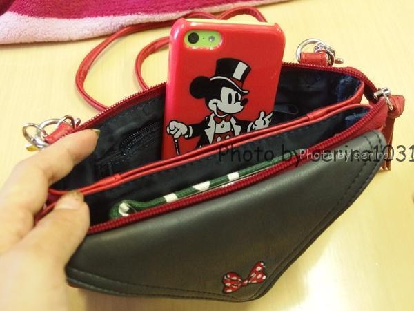 ディズニーお財布バッグ