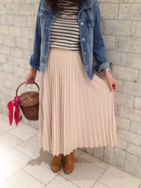 4月妊娠7ヶ月の服装