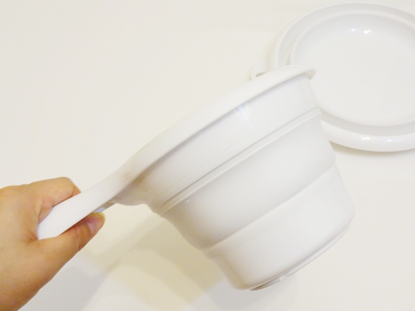 折りたたみシリコン洗面器