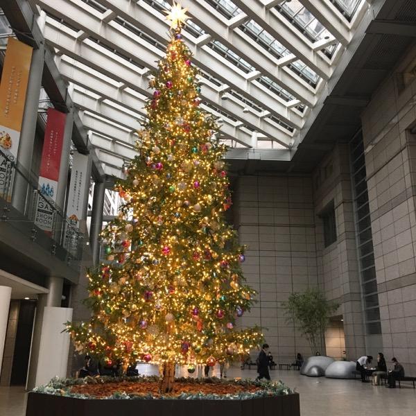 新宿パークタワークリスマスツリー2016
