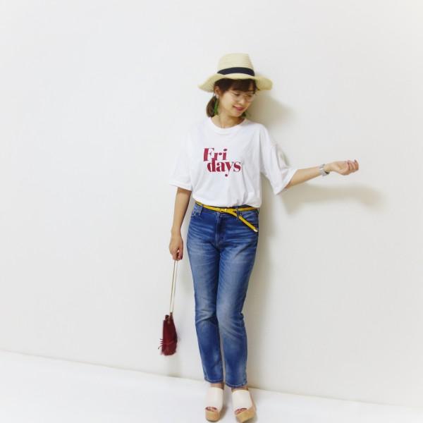 ディーホリックプチプラロゴTシャツ
