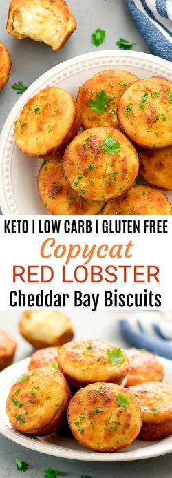 Idyllic Keto Low Carb Copycat Red Lobster Cheddar Bay Se Biscuits Fluffy Keto Copycat Red Lobster Cheddar Bay Biscuits Cravings Cheddar Bay Biscuit Recipe Abc Cheddar Bay Biscuit Recipe Bay Seasoning