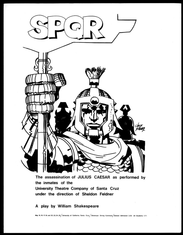 1969 - Julius Caesar handbill photocopy