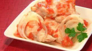 【金スマ】作り置きダイエットレシピ『鶏肉のトマト酢マリネ』の作り方!